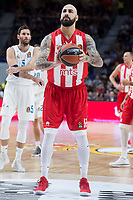 Crvena Zvezda Pero Antic during Turkish Airlines Euroleague match between Real Madrid and Crvena Zvezda at Wizink Center in Madrid, Spain. December 01, 2017. (ALTERPHOTOS/Borja B.Hojas)