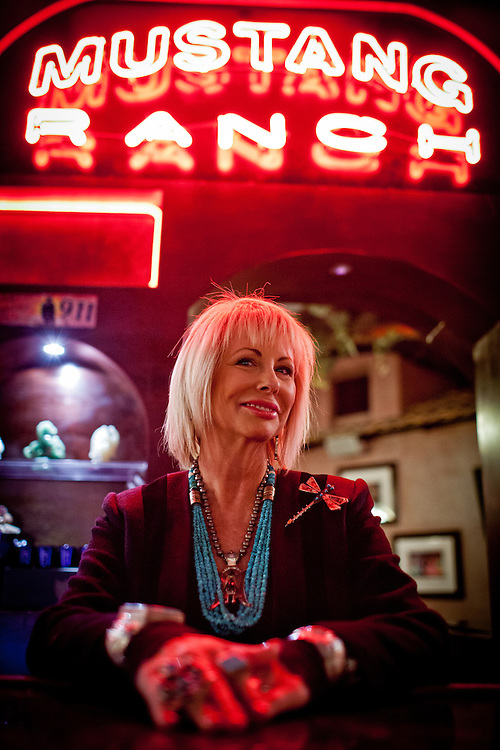 Susan Austin is the madam at the Mustang Ranch in Sparks, Nev. November 26, 2012.