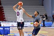 Tyler Harvey, Chris Wright<br /> Vanoli Cremona - Fiat Auxilium Torino<br /> Lega Basket Serie A 2016/2017<br /> Cremona, 12/02/2017<br /> Foto Ciamillo-Castoria