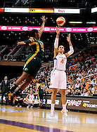 Sep 17 2011; Phoenix, AZ, USA; Phoenix Mercury forward .Candice Dupree (4) puts up a shot against Seattle Storm forward Camille Little (20) during the first half at the US Airways Center.  Mandatory Credit: Jennifer Stewart-US PRESSWIRE.