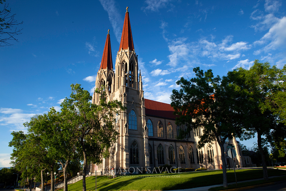 St Helena Cathedral, Montana.