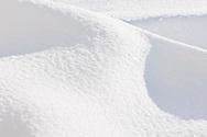 Abstract of snow and light, Cocolalla, Idaho, USA
