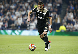 April 30, 2019 - London, England, United Kingdom - Dusan Tadic of Ajax.during UEFA Championship League Semi- Final 1st Leg between Tottenham Hotspur  and Ajax at Tottenham Hotspur Stadium , London, UK on 30 Apr 2019. (Credit Image: © Action Foto Sport/NurPhoto via ZUMA Press)