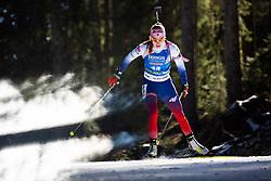 Ivona Fialkova (SVK) during the Women 15 km Individual Competition at day 2 of IBU Biathlon World Cup 2019/20 Pokljuka, on January 23, 2020 in Rudno polje, Pokljuka, Pokljuka, Slovenia. Photo by Peter Podobnik / Sportida