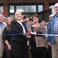 A ribbon cutting was held for the recently remodeled Amory Housing Authority.