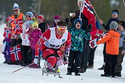 LARSEN Trygve Steinar, NOR, Short Distance Biathlon, 2015 IPC Nordic and Biathlon World Cup Finals, Surnadal, Norway