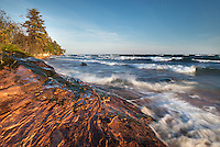 Oliver Bay near Point Isabelle<br /> Keweenaw Peninsula