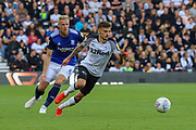 Derby County forward Jamie Paterson during the EFL Sky Bet Championship match between Derby County and Birmingham City at the Pride Park, Derby, England on 28 September 2019.