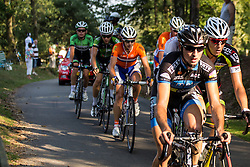 Rheden, The Netherlands - Dutch Food Valley Classic (UCI 1.1) - 23th August 2013 - Lars VAN DER HAAR (Nationale selectie Nederland) in the leaders group