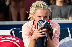 Katerina Siniakova (Czech Republic) at the 2017 WTA Ericsson Open in Båstad, Sweden, July 30, 2017. Photo Credit: Katja Boll/EVENTMEDIA.