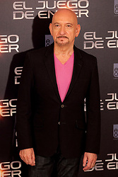 03.10.2013, Villa Magna Hotel, Madrid, ESP, Enders Game Photocall, im Bild US actor Ben Kingsley poses // during a photocall for the film Ender's Game, Villa Magna Hotel, Madrid, Spain on 2013/10/03. EXPA Pictures © 2013, PhotoCredit: EXPA/ Alterphotos/ Ricky Blanco<br /> <br /> ***** ATTENTION - OUT OF ESP and SUI *****