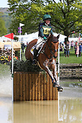 Eliza Stoddart on Dick O Malley during the International Horse Trials at Chatsworth, Bakewell, United Kingdom on 13 May 2018. Picture by George Franks.