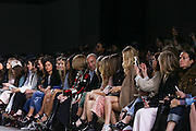 Philip Green front row at Topshop Unique on day 3 of London Fashion Week February 15 2014.<br /> <br /> <br /> Photo by Ki Price