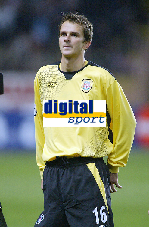 23/11/2004 - UEFA Champions League - Group A - AS Monaco v Liverpool  - Stade Louis II, Monte Carlo<br />Liverpool's Dietmar Hamann<br />Photo:Jed Leicester/Back Page Images