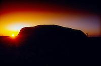 Sunrise, Ayers Rock, Uluru National Park, Northern Territory, Australia