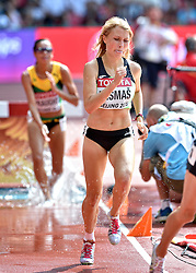 24-08-2015 CHN: IAAF World Championships Athletics day 3, Beijing<br /> Marusa Mismas SLO on the 3000 steeplechase.<br /> Photo by Ronald Hoogendoorn / Sportida