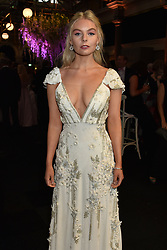 Nell Hudson at the Boodles Boxing Ball, in association with Argentex and YouTube in Support of Hope and Homes for Children at Old Billingsgate London, United Kingdom - 7 Jun 2019 Photo Dominic O'Neil