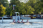 Henley on Thames, England, United Kingdom, 3rd July 2019, Henley Royal Regatta, Prince Albert Challenge Cup, Cornell   University USA,  Henley Reach, [© Peter SPURRIER/Intersport Image]<br /> <br /> 18:50:16 1919 - 2019, Royal Henley Peace Regatta Centenary,
