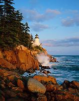 Bass Head Lighthouse, Acadia National Park, Maine