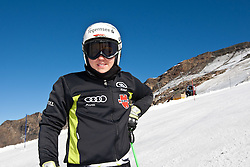 04.11.2011, Moelltaler Gletscher, Flattach, AUT, DSV Medientag, im Bild Viktoria Rebensburg // During media day of German Ski Federation DSV at Moelltaler glacier in Flattach, Carinthia, Austria on 4/10/2011. EXPA Pictures © 2011, PhotoCredit: EXPA/ J. Groder