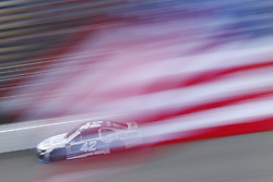 August 12, 2018 - Brooklyn, Michigan, United States of America - Kyle Larson (42) brings his race car down the front stretch during the Consumers Energy 400 at Michigan International Speedway in Brooklyn, Michigan. (Credit Image: © Chris Owens Asp Inc/ASP via ZUMA Wire)