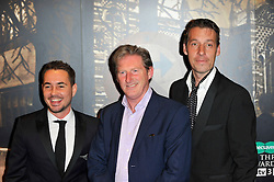Martin Compston, Adrian Dunbar & Craig Parkinson at the  Crime Thriller Awards  in London, Thursday, 18th October 2012 Photo by: Chris Joseph / i-Images