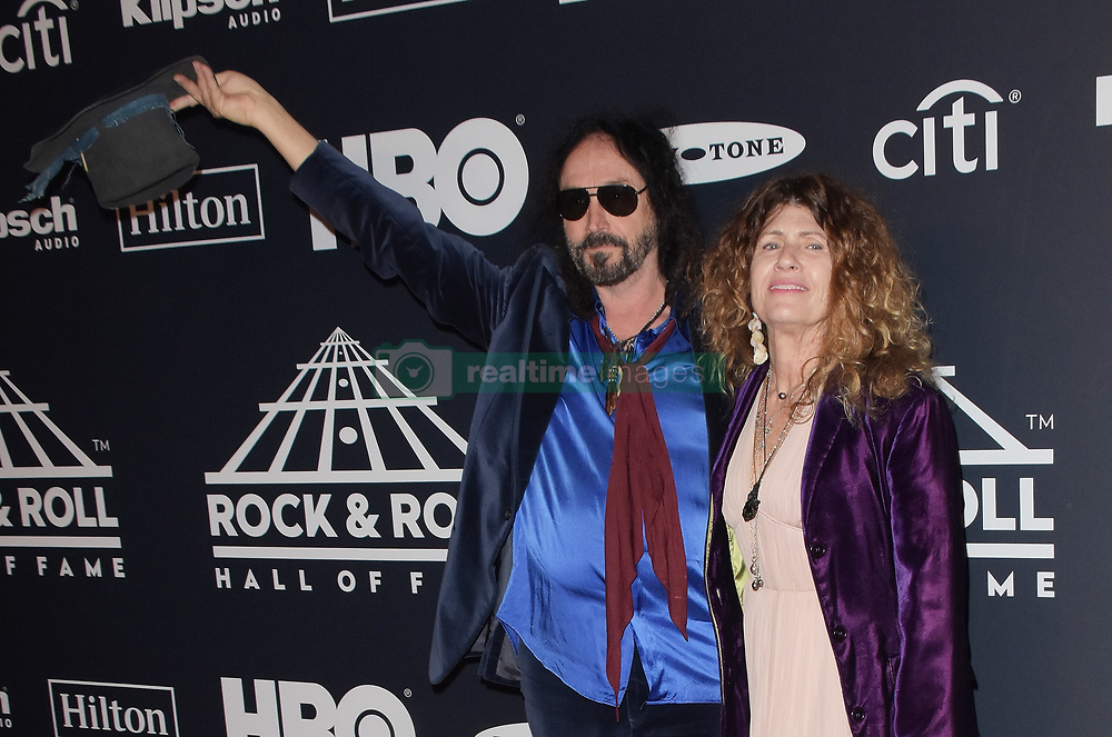 March 30, 2019 - Brooklyn, New York, USA - NEW YORK, NEW YORK - MARCH 29: Mike Campbell, Marcie Campbell attends the 2019 Rock & Roll Hall Of Fame Induction Ceremony at Barclays Center on March 29, 2019 in New York City. Photo: imageSPACE (Credit Image: © Imagespace via ZUMA Wire)