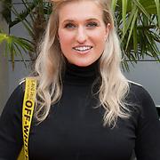 NLD/Hilversum/20180828 -  Persviewing nieuw tv-seizoen NPO, Britt Dekker