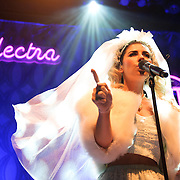 WASHINGTON, DC - August 14th, 2012 - Marina and the Diamonds perform at the 9:30 Club in Washington, D.C. The group's sophomore album, Electra Heart, was released in April and debuted at number 1 on the UK Albums Chart.  (Photo by Kyle Gustafson/For The Washington Post)