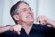 Heppenheim - Oberhambach | April 16, 2010..Diskussionsveranstaltung an der Odenwaldschule anlaesslich der bekannt gewordenen F?lle von Missbrauch und sexualisierter Gewalt. Hier: Thomas Bockelmann, ehemaliger Schueler. ..Foto: peter-juelich.com