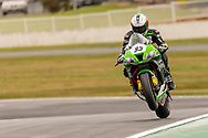 Kyle Buckley 83 riding for Kawasaki BCperformance during round 5 of the Australian Superbike Championship on September 06, 2019 at Winton Motor Raceway, Victoria. (Image Dave Hewison/ Speed Media)