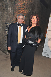 BALDASSARE LA RIZA and SOPHIE DIEDRICHS at Wanderlust - the Contemporary Art Society Annual Fundraising Gala held at Old Vic Tunnels, London on 13th March 2013.