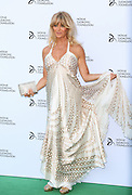 Actress Goldie Hawn attends a gala dinner hosted by Wimbledon finalist Novak Djokovic girlfriend model Jelena Ristic at The Roundhouse in Camden, London on July, 8, 2013.<br /> Photo By Ki Price