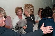 SUZANNE BERTISH;  JENNIFER SAUNDERS;  Press night for Ruby Wax- Losing it. Duchess theatre. London. 1 September 2011. <br /> <br />  , -DO NOT ARCHIVE-© Copyright Photograph by Dafydd Jones. 248 Clapham Rd. London SW9 0PZ. Tel 0207 820 0771. www.dafjones.com.