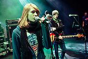 Soundcheck in Santander, Spain on December 2, 2010