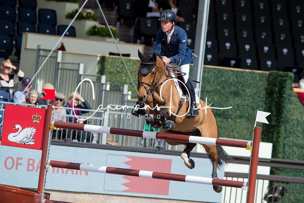 Brash Scott, GBR, Ursula XII<br /> CSI5* Jumping<br /> Royal Windsor Horse Show<br /> © Hippo Foto - Jon Stroud