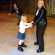 Premiere Holiday on Ice 2004, Diana en Anneke Janssen