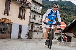 10-09-2017 FRA: BvdGF Tour du Mont Blanc day 1, Beaufort <br /> Vandaag vertrekken we vanuit Papendal in Arnhem naar naar het plaatsje Beaufort (nabij Chamonix) in Frankrijk / Tjebbe