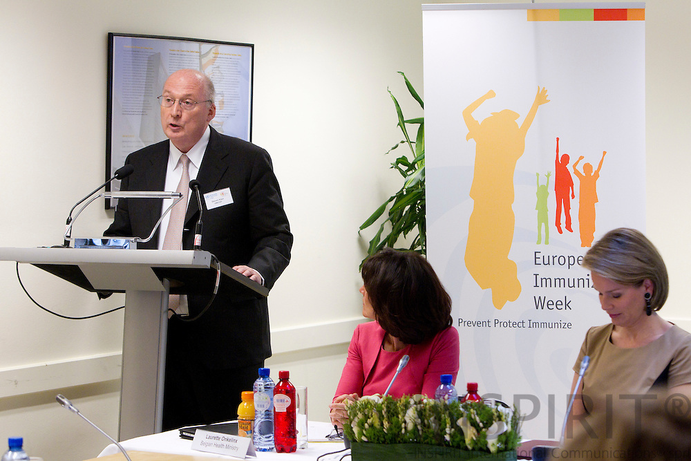 BRUSSELS - BELGIUM - 26 APRIL 2011 - - WHO European Immunization Week 2011 - - Steven Allen, Regional Director for Central and Eastern Europe and the Commonwealth of Independent States, UNICEF.  Photo: Erik Luntang / INSPIRIT Photo