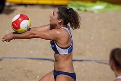 23-08-2019 NED; DELA NK Beach Volleyball Qualification, Scheveningen<br /> First day NK Beachvolleyball / Emma Rekar