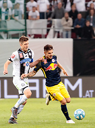 09.05.2018, Woerthersee Stadion, Klagenfurt, AUT, OeFB Uniqa Cup, SK Puntigamer Sturm Graz vs FC Red Bull Salzburg, Finale, im Bild Patrick Farkas (FC Red Bull Salzburg), Deni Alar (SK Puntigamer Sturm Graz) // during the final match of the ÖFB Uniqa Cup between SK Puntigamer Sturm Graz and FC Red Bull Salzburg at the Woerthersee Stadion in Klagenfurt, Austria on 2018/05/09. EXPA Pictures © 2018, PhotoCredit: EXPA/ Johann Groder