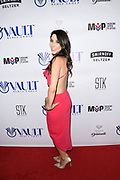ERIKA DE LA CRUZ arrives at the 10th Annual All-Star Celebrity Kickoff Party in Celebration of ESPY's Week at STK in Los Angeles, California.