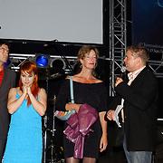 Premiere Stille Nacht, Jeroen Spitzenbergen, Victoria Koblenko, regiseusse Ineke Houtman en Rene Mioch
