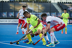 England v China - Hockey World League Semi Final, Lee Valley Hockey and Tennis Centre, London, United Kingdom on 15 June 2017. Photo: Simon Parker