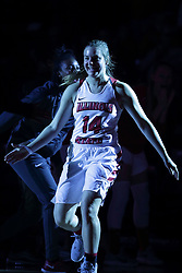 01 November 2017: Paige Saylor during a Exhibition College Women's Basketball game between Illinois State University Redbirds the Red Devils of Eureka College at Redbird Arena in Normal Illinois.