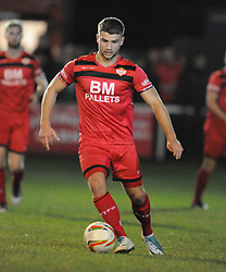 MICHAEL RICHENS KETTERING  TOWN, Kettering Town v Nantwich Town Emirates FA Cup 1st Round Replay Latimer Park, Tuesday 17th October 2017, Score 0-1, Att 903.<br /> Photo:Mike Capps