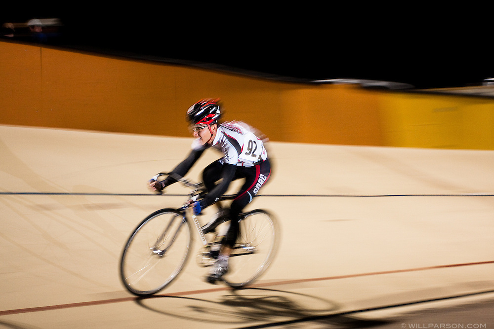 Tuesday Night Racing at the San Diego Velodrome on April 28, 2009.