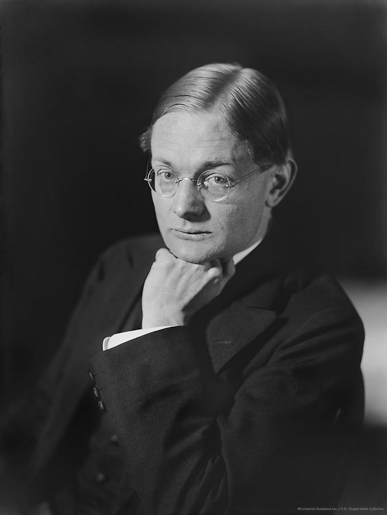 Karl Gustav Vollmoeller, German Playright and Screenwriter, 1912