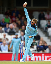 England's Joe Root during the ICC Cricket World Cup Warm up match at The Oval, London.