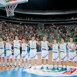20120720: SLO, Basketball - U20 European Championship, Quarterfinals, Slovenia vs France